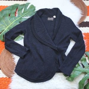 Anthropologie Guinevere Wool Button Cardigan Small